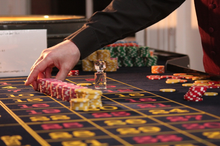 Baccarat playing